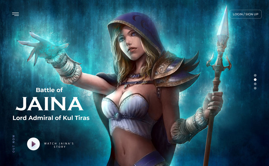 World of Warcraft – Jaina Proudmoore